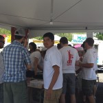 Boulder Creek Festival Beer Tent 2013
