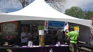 Boulder Creek Festival Beer Tent 2013