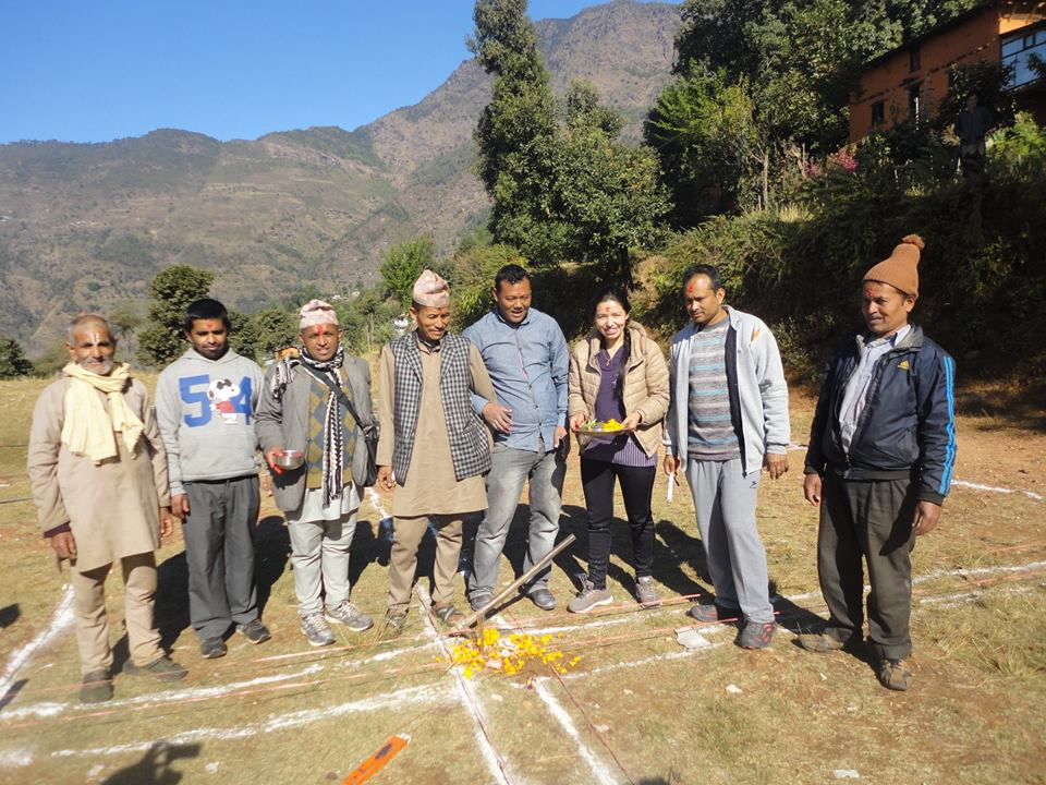 DH Funded School in Nepal