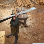 Carrying tin for RCC Slav