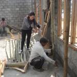 Sangu Sherpa suggesting to skilled labor