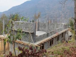 School building constraction progress(2)