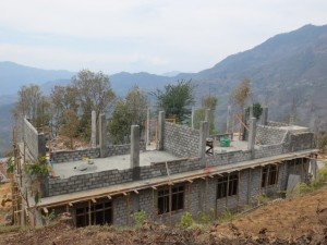 School building constraction progress(3)