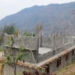 School buildingconstraction progress