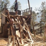 Wood for frames for first floor Rcc slav